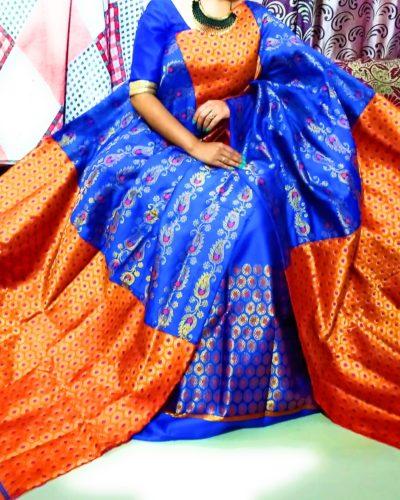 Mekhela Chadar noni lodanan sttapel cotton